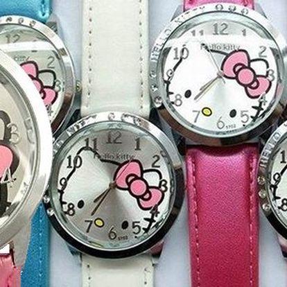 Dámské hodinky Hello Kitty - elegantní doplněk pro ženy a slečny všech věkových kategorií! Hodinky s roztomilým designem oblíbené kočičky v několika barevných variantách si oblíbily i celebrity. Pořiďte si je také!