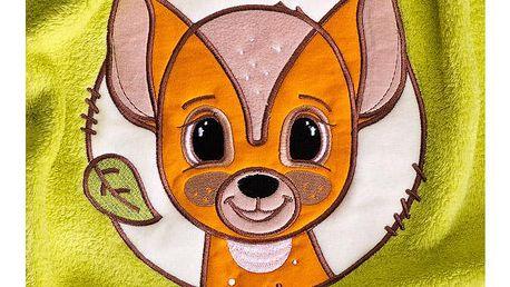 Dětská deka Lesní Zvířátka 75x100 cm