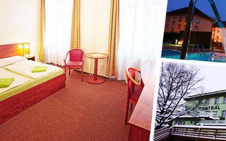 Wellness pobyt pro dva v Hotelu Centrál***