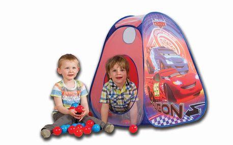 Pop Up stan + 30 míčků Cars