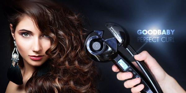 KULMA GoodBaby Perfect Curl s LCD DISPLEJEM! Vykouzlí VLNY jako ze salónu z dlouhých i krátkých vlasů!