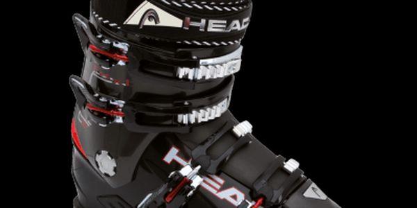 Pánská pohodlná lyžařská obuv pro začatečníky a rekreační lyžaře Head HEAD FX XT