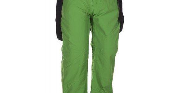 Pánské zelené lyžařské kalhoty se šlemi Envy