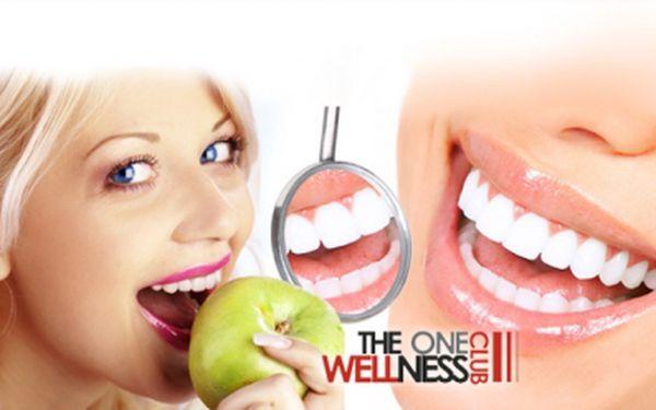 Zářivě bílý úsměv! NEPEROXIDOVÉ BEZBOLESTNÉ BĚLENÍ ZUBŮ v délce 30 - 40 minut!