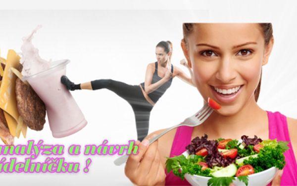 Měsíční telefonické poradenství - jak zdravě zhubnout! Analýza tělesné kondice + návrh jídelníčku!