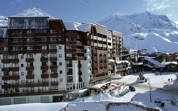 Priv. apartmány Val Thorens, Rhône Alpes - Savojské Alpy - Les Trois Vallées - Val Thorens, Francie, autobusem, bez stravy