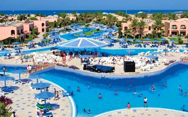 Ali Baba Palace, Hurghada, Egypt, letecky, all inclusive