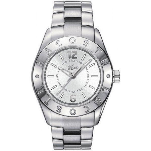 Dámské ocelové hodinky Lacoste - stříbrná barva