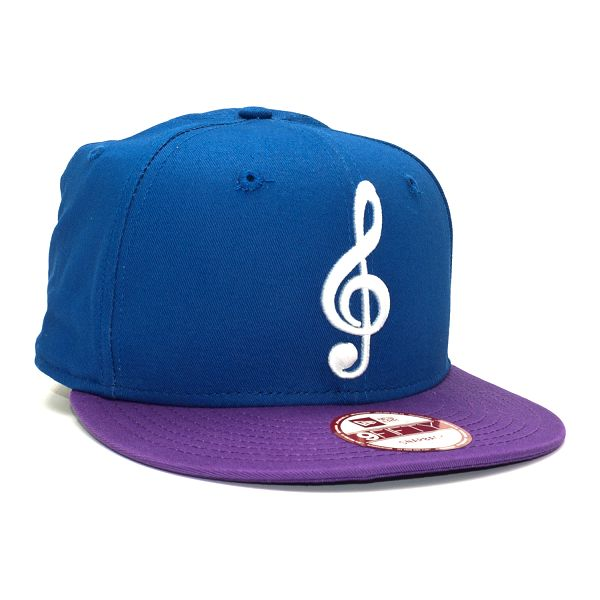 Kšiltovka New Era The Clef Cap Blue/Purple Snapback