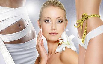 REGENERAČNÍ BALÍČEK pro ŽENY! Ultrazvuková liposukce, hubnoucí zábal, lymfodrenáž a kosmetika!