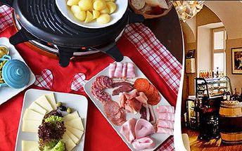 Raclette Grill pro dva v Bistro de France