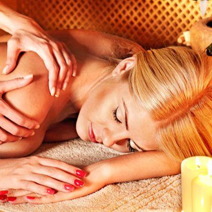 Regenerační bylinná masáž esenciálními oleji vdélce 60 minut