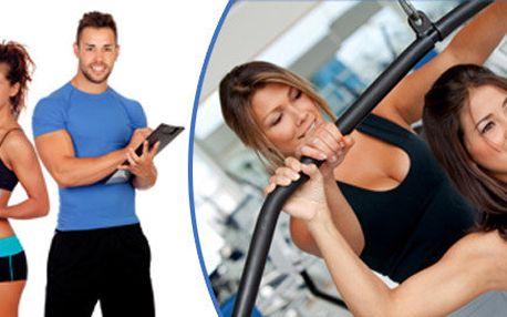 10 lekcí s osobním fitness trenérem