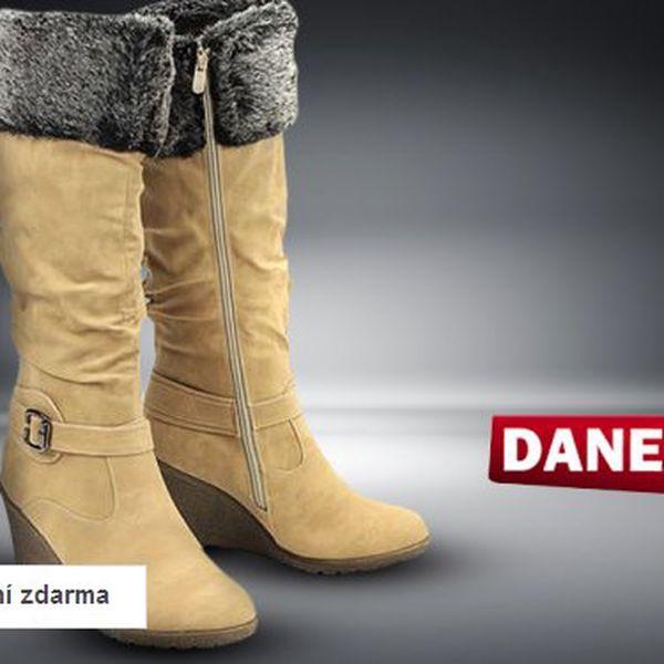 Výprodej dámské zimní obuvi Danea
