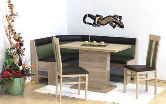 Moderní rohová jídelní lavice Bern
