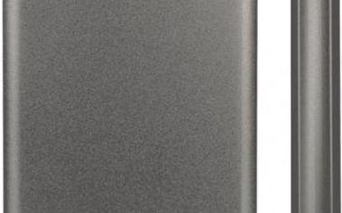 """Externí pevný disk 2,5"""" A-Data HC500 1TB (AHC500-1TU3-CTI) titanium + DOPRAVA ZDARMA"""