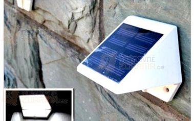 Outdoorová solární 4 LED lampa a poštovné ZDARMA! - 9999916862