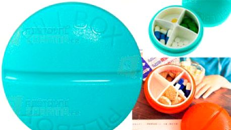 Krabička na léky v podobě pilulky a poštovné ZDARMA! - 9999916844