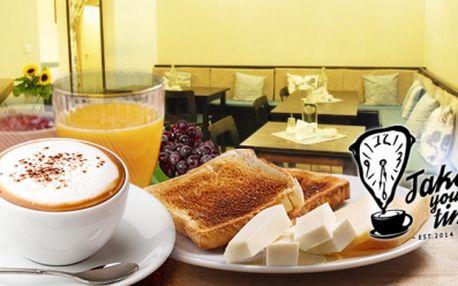Lahodná snídaně nebo večerní menu v nové kavárně v centru Prahy! Chutné jídlo a domácí atmosféra!