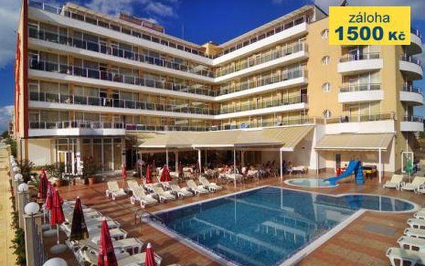 Bulharsko, oblast Primorsko, letecky, snídaně, ubytování v 4,5* hotelu na 11 dní