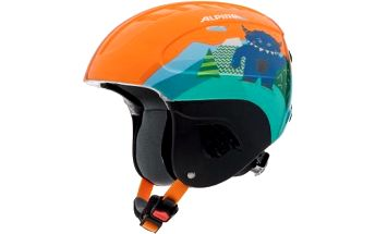 Lehká dětská sjezdařská helma Alpina s IN-MOLD