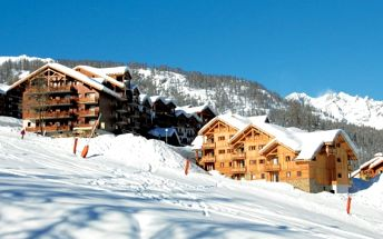 Francie, oblast Puy Saint Vincent, bez stravy, ubytování v 3* hotelu na 8 dní
