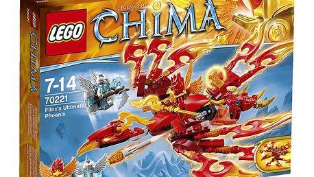 Stavebnice LEGO Chima 70221 Flinxův úžasný Fénix