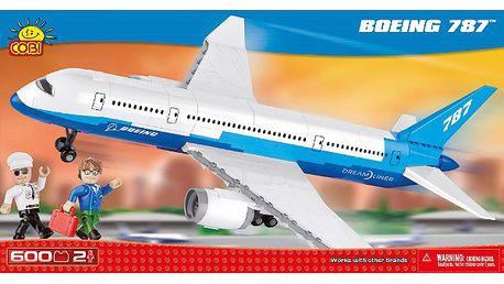 Stavebnice COBI 26600 Boeing 787 Dreamliner, 600 k, 2 f