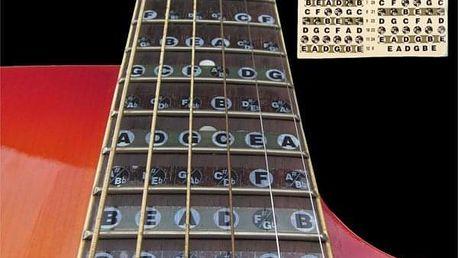 Naklejane akordy gitarowe dla początkujących