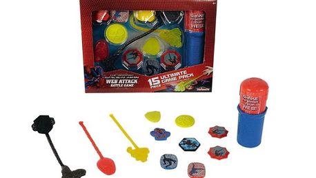 Zábavná hra se Spidermanem na procvičení přesnosti a odhadu Web Attack XXL sada