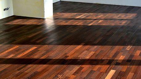 Dřevěná podlaha Wenge lak - perla Afriky
