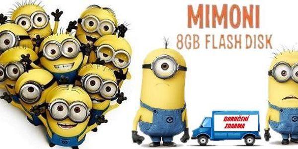 """8GB flash disk Mimoni z filmu """" Já, padouch """" , Poštovné zdarma!!!!!!!"""