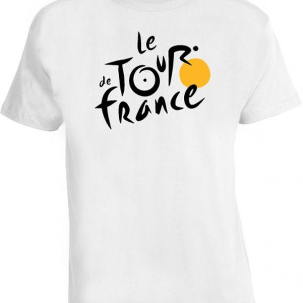 Stylová trika s potiskem Tour De France pro rok 2014