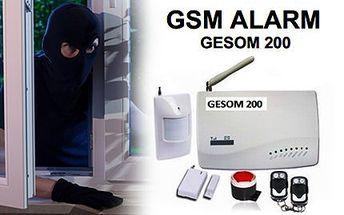 GSM Alarm GESOM 200 Premium pro vaše bezpečí