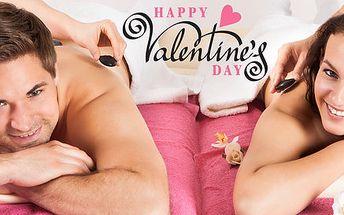 Smyslná valentýnská masáž pro zamilovaný pár