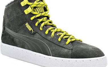 Pánská zimní obuv 48 MID WINTER šedá