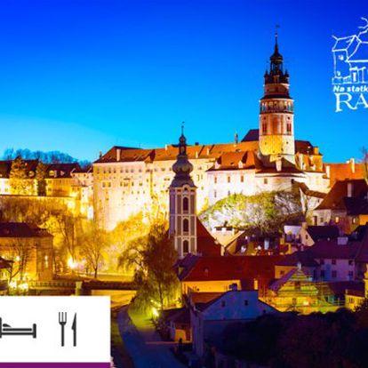 Jižní Čechy – pobyt s polopenzí pro dva