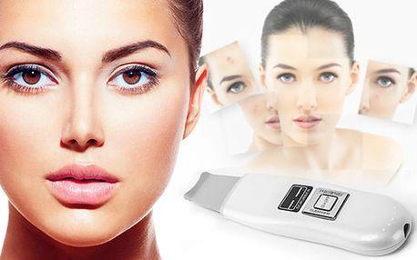 Kosmetická ultrazvuková špachtle pro bezchybnou pleť