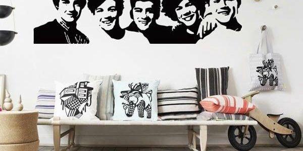 One Direction - samolepka na zeď pro všechny fanoušky!