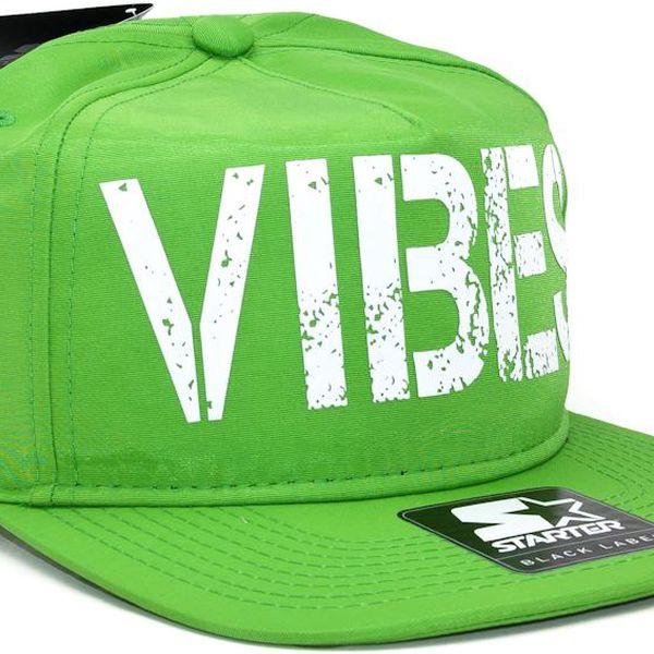 Kšiltovka Starter Vibes Green/White Snapback