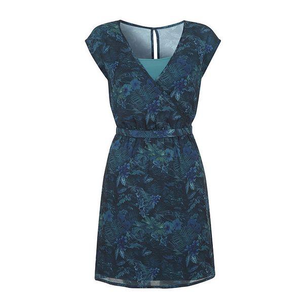 Dámské petrolejové šaty Yumi