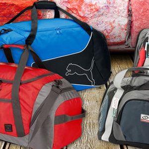 Objemné sportovní tašky LOAP a Puma