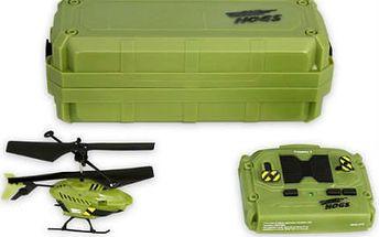 Model helikoptéry: Mini vrtulník RC Air Hogs ve 3 barvách