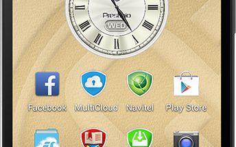Smartphone s dvoujádrovým procesorem Prestigio MultiPhone 5503 DUO