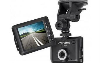 Full HD kamera do auta s 8GB microSDHC kartou