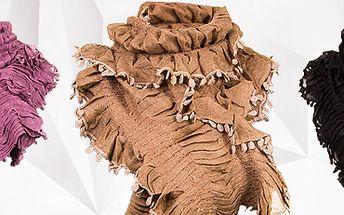 Trendy šála XXL v 7 barvách: musíte mít ve vašem šatníku!