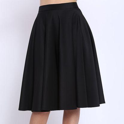 Dámská černá sukně s kapsami Melli London