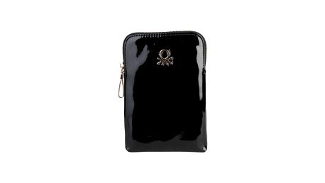 Černý lakovaný obal na tablet Benetton