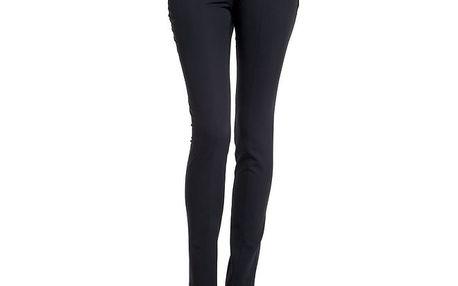 Dámské černé úzké kalhoty s puky Lora Gene