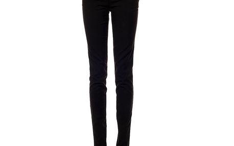 Dámské uzké černé kalhoty Gene